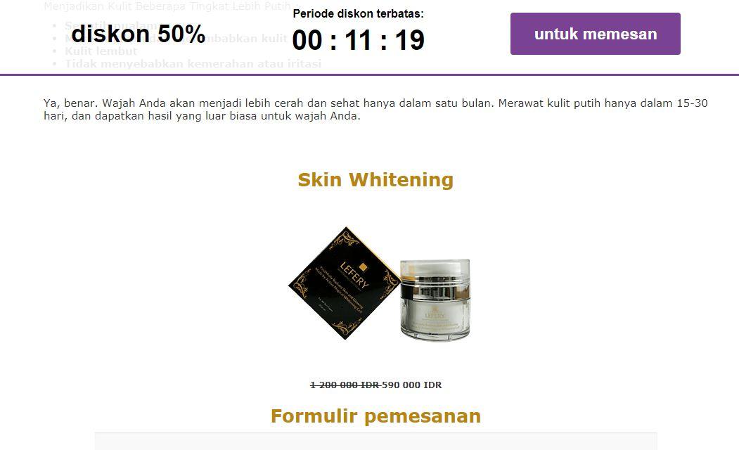 Lefery Skin Whitening