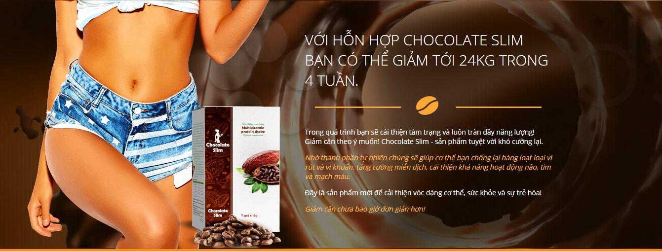 Chocolate Slim - Thuốc giảm cân, có sẵn trên trang web